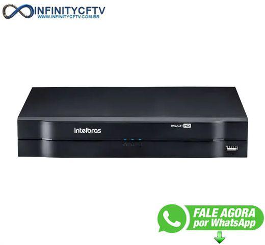 DVR Intelbras MHDX 1108 Multi HD de 8 Canais 1080p Lite - InfinityCftv