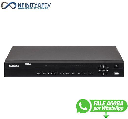 DVR Intelbras MHDX 1132 Multi HD de 32 Canais - InfinityCftv