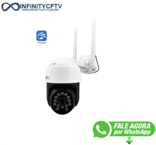 Camera IP PTZ MoonLight WI-FI Externa LKW-4020 -Infinity Cftv