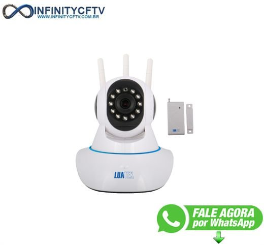 Câmera IP PTZ wifi com sensor LKW-1510-Infinity Crtv