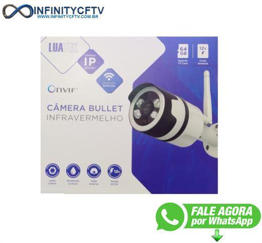 Câmera IP WIFI Externa Full HD 1080P LKW-3320 (1848)-Infinity Crtv