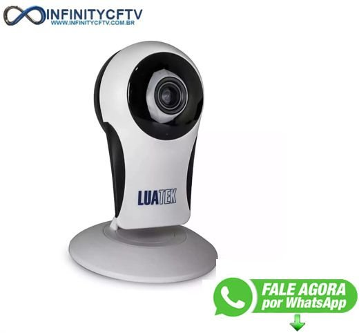 Câmera IP panoramica 180 graus base de ímãs LKW-6010-Infinity Crtv