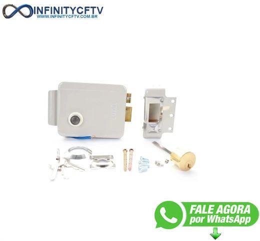 Fechadura Trava Portas E Portões Elétrica / Eletrônica 12v LFE-111 - Infinity Crtv