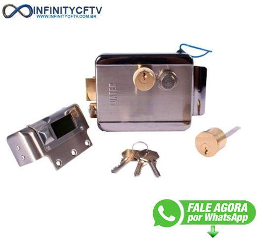Trava Elétrica Fechadura Portão Eletrônico LFE-112-Infinity
