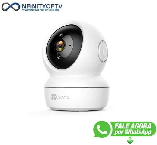 Câmera Ip Hikvision Ezviz C6n 1080p Full Hd Wifi Inteligente - InfinityCftv