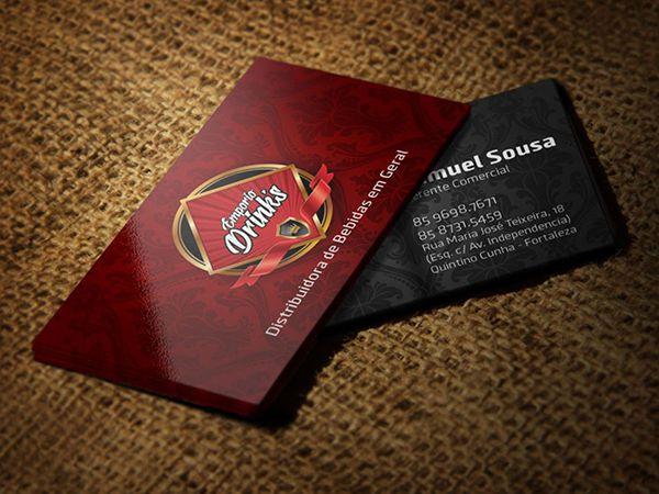 1.000 Cartão de Visita - Tamanho 9x5cm - Papel Couchê 250g - Colorido Frente e Verso - Verniz Total Frente