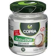 ÓLEO DE COCO SEM SABOR 200ML -COPRA
