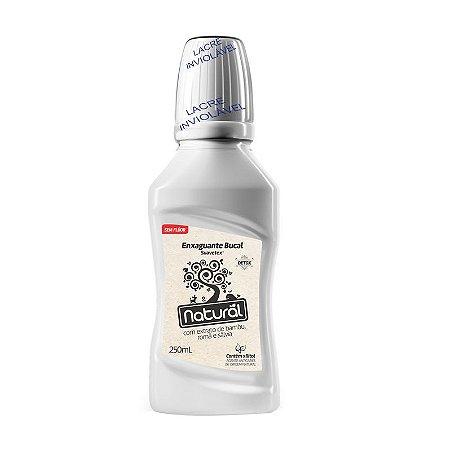 Enxaguante bucal Detox com extratos de Bambu, Romã e Sálvia 250ml