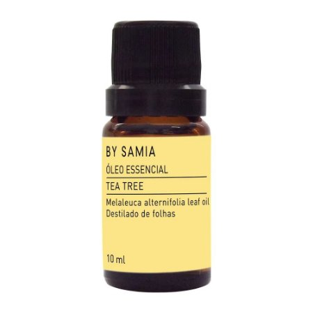 ÓLEO ESSENCIAL DE TEA TREE (MELALEUCA) 10 ML- by samia
