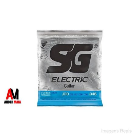 ENCORDOAMENTO SG PARA GUITARRA  LIGHT 010 046