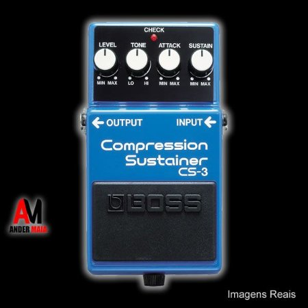 PEDAL BOSS COMPRESSION SUSTAINER CS3 USADO