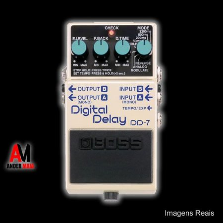 PEDAL BOSS DIGITAL DELAY DD-7 SEMINOVO
