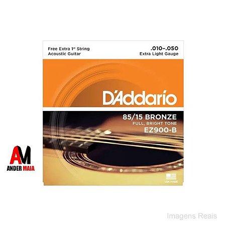 ENCORDOAMENTO DADDARIO 85/15 BRONZE 010 046 VIOLAO