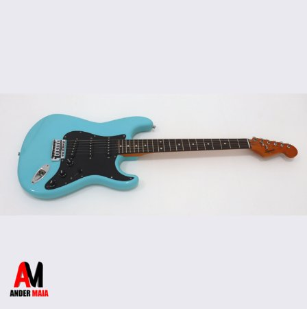 GUITARRA FENDER SQUIER STRATOCASTER BULLET TROPICAL TURQUOISE