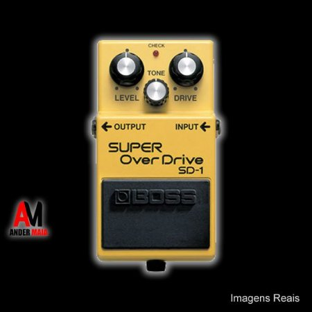 PEDAL BOSS SUPER OVERDRIVE SD1 USADO
