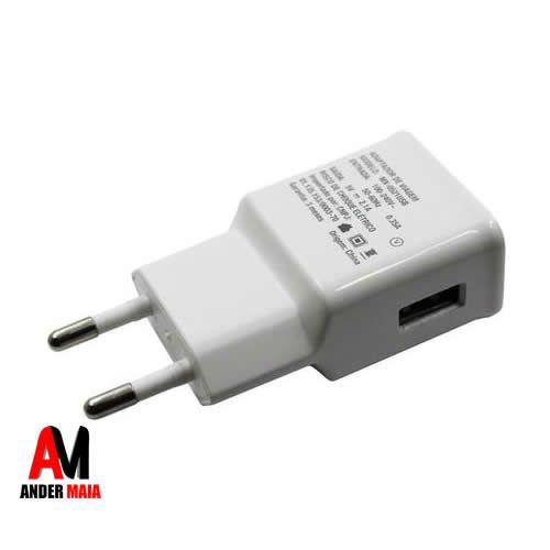ADAPTADOR DE VIAGEM RAPIDO 9V/1.67A - 5V/2.1A USB, BRANCO