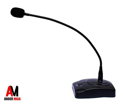 MICROFONE DE MESA PROFISSIONAL (GOOSENECK) SOUNDVOICE MM-100