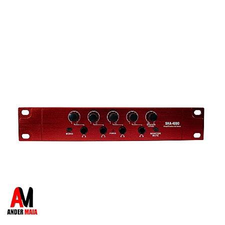 AMPLIFICADOR DE FONE SHA4000 SOUNDVOICE