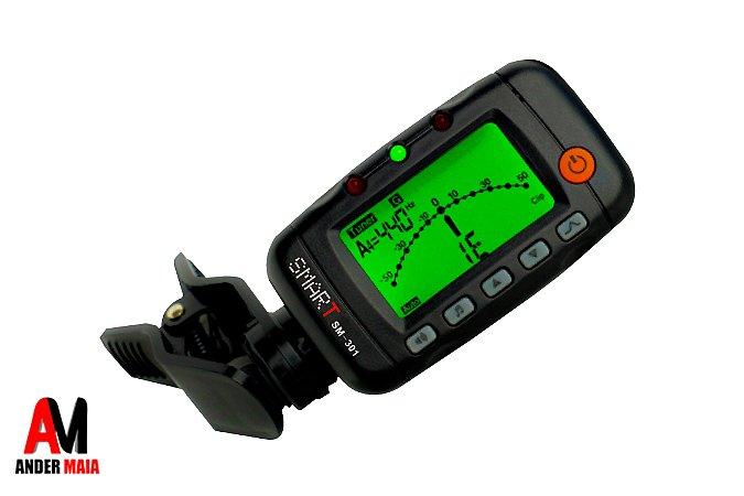 AFINADOR DIGITAL 3 EM 1 SMART SM301 CLIP PRETO