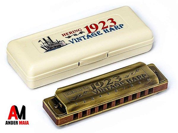GAITA DE BOCA VINTAGE HARP 1923 1020C - DÓ