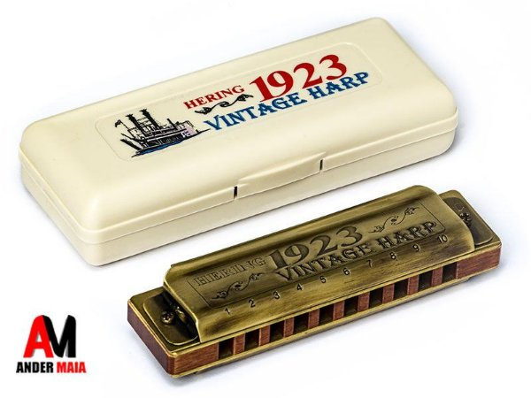 GAITA DE BOCA VINTAGE HARP 1923 1020E - MI