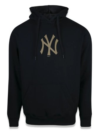 MOLETOM NEW ERA CANGURU FECHADO NEW YORK YANKEES MLB MBI19MOL032