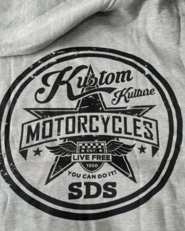 MOLETOM SDS CANGURU MOTORCYCLES CINZA 212301