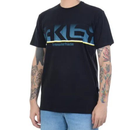 CAMISETA OAKLEY THE BIG MARK IRIDIUM TEE PRETO 458046BR-02ES