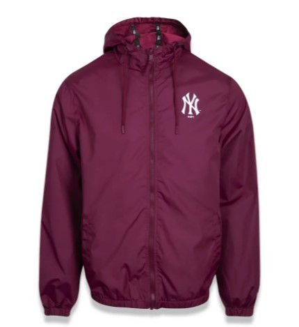 JAQUETA NEW ERA CORTA VENTO (WINDBREAKER) NEW YORK YANKEES VERMELHO MBI20JAQ027
