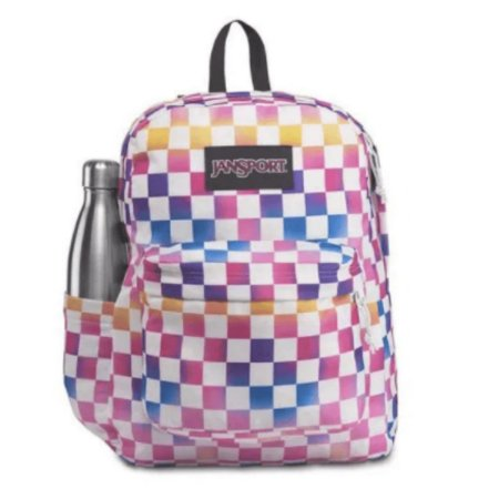 Mochila JanSport Superbreak Plus - Check It 4QUE73P
