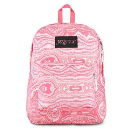 Mochila JanSport Black Label SUperbreak - Pink Geode Load TWK85S4