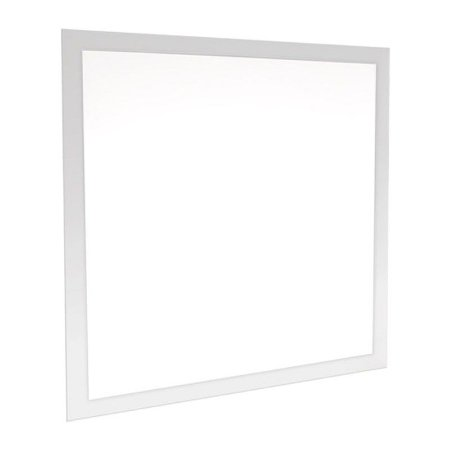 Luminária LED 48W painel 62x62 Embutir Branco Frio Borda Branca