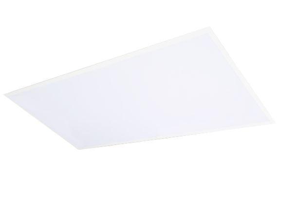 Luminária Comercial embutir 4x18w 1250mm Tubular T8 Com Difusor Leitoso