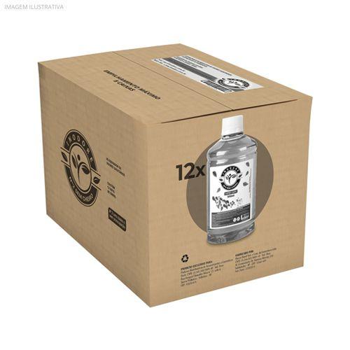 Kit Refil Inodore Capim-Limão 500ml - 12 Unidades