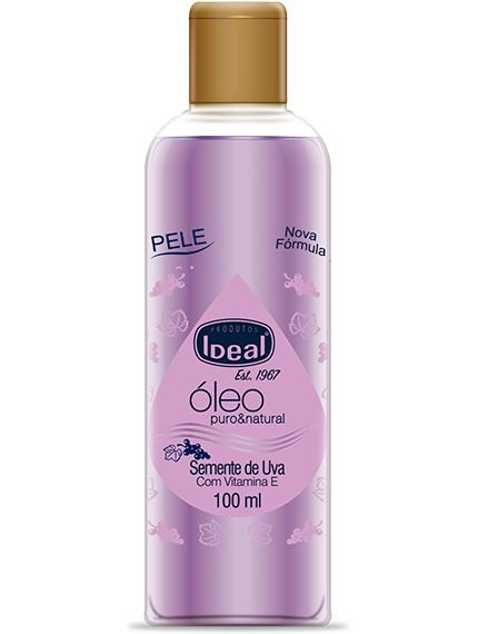 Oleo Semente Uva L'Amore 100ml Ideal