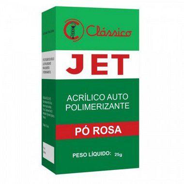 Resina Acrilica  Jet Classico Po Rosa 25 gr
