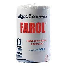 Algodao Hidrofilo 500gr Farol