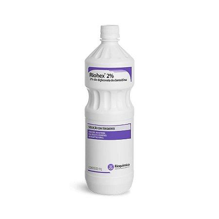Riohex 2% Litro Digliconato Clorexidina Tensoativo