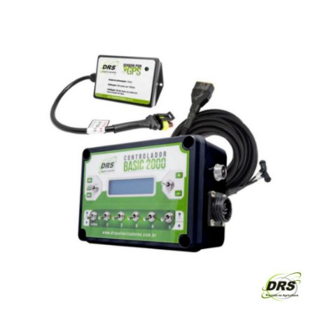 Kit Controlador de Vazão Com Sensor de Velocidade por GPS - DRS