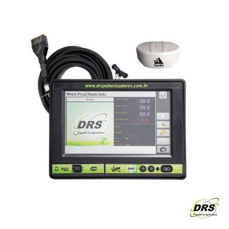 Kit Controlador de Vazão com Sistema de GPS e Corte de Seção - DRS