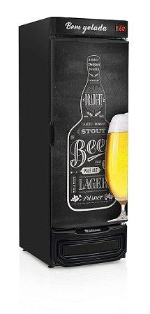 Cervejeira Gelopar GRBA-570QC Vertical 570L Porta Cega com Adesivo 220V