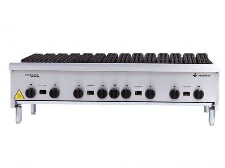 Char Broiler Americano a Gás Venâncio Deguste CGG90 - 90cm Inox