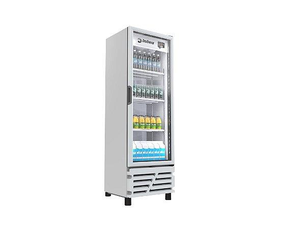 Refrigerador Expositor de Bebidas Imbera VRS16 454L Porta de Vidro Branco 220V