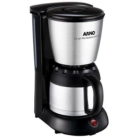 Cafeteira Arno Gran Perfectta Thermo CFX2 Inox 24 Xícaras 220V