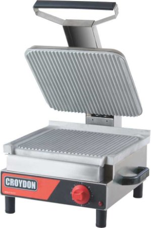 Sanduicheira Elétrica Simples Chapa Estriada Croydon SASE 220v
