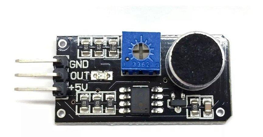 Sensor Detector De Som Palmas Arduino Raspberry