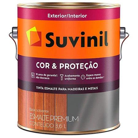 Esmalte 3,6L Marrom Conhaque Suvinil