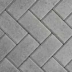 Paver m² 20x10x6cm Concreto