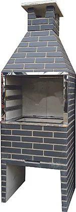 Churrasqueira Concreto 0,55m HD Chumbo