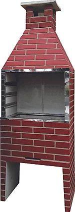 Churrasqueira Concreto 0,55m HD Tijolo